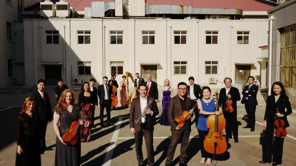 Tianjin Juilliard Ensemble Group Shot (outdoor)