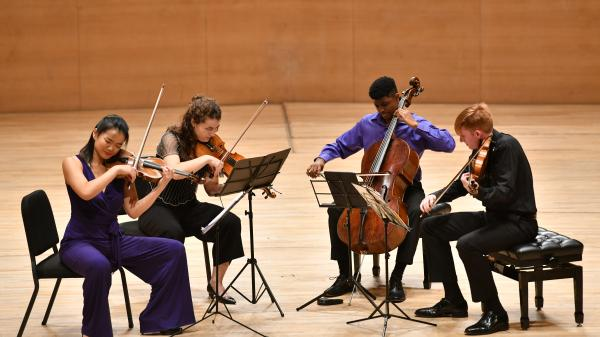 Juilliard Kovner Fellows at Tianjin Chamber Music Festival