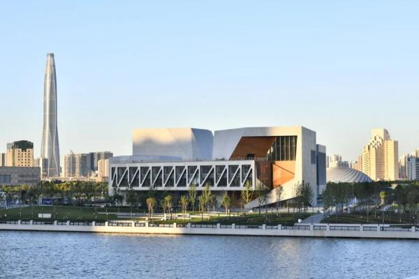 the New building of the Tianjin Juilliard School